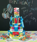 Art Supplies Gift Cake