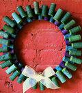 Christmas Cork Wreath