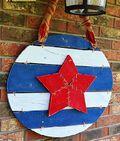 Her Tool Belt's Americana Door Art