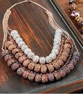 Glitter Bead Galaxy Necklace