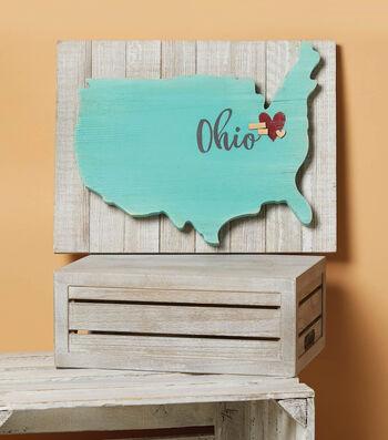 How to Make a USA Ohio Pallet