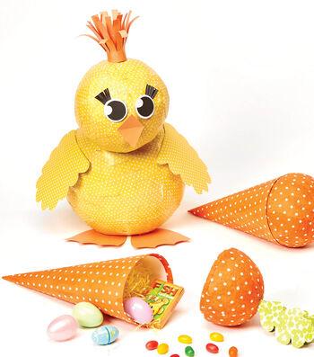 Paper Mache Chick