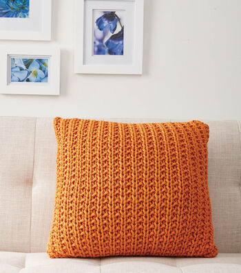 How To Make A Down the Line Knit Pillow