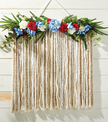 How to Make A Floral Garland  Backdrop