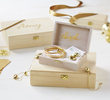 Makers Guide: Personalized Jewelry Boxes