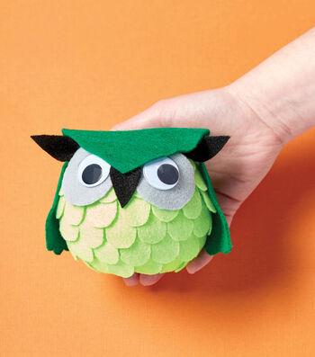 How To Make A Googly Eye Felt Owl