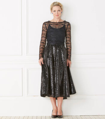 Lace Top, Two Skirts