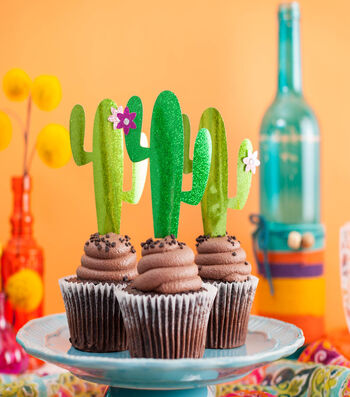 Make Cactus Cake Toppers