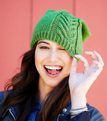 How To Knit A Road to Success Chic Hat