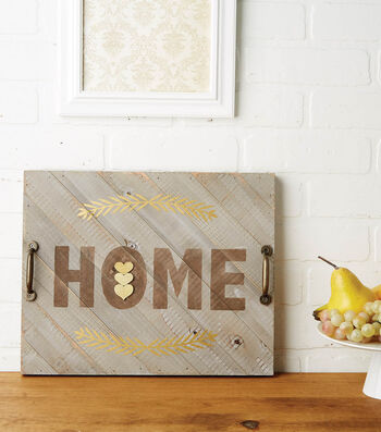 How to Make a Home Tray Pallet