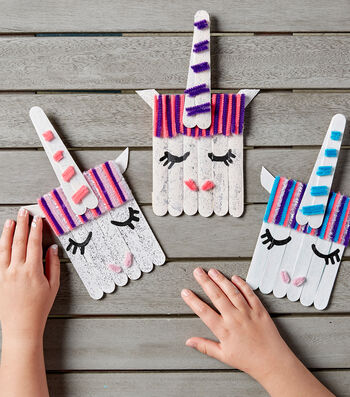 Make Popsicle Stick Characters