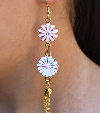 How To Make Flower Child Earrings