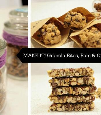 How To Make A Granola Treat