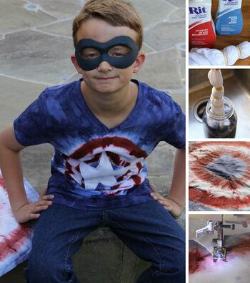 American Superhero Costume