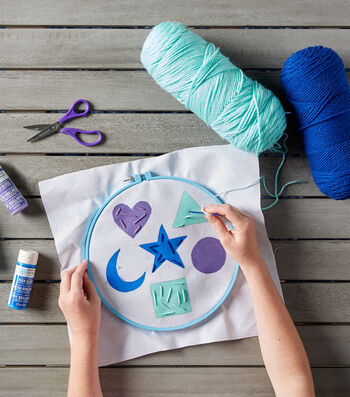 Sewing Shapes for Kids