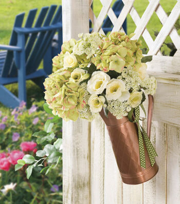 Copper Bucket Floral Arrangement