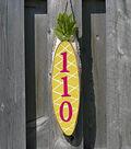 Hanging Pineapple Address Sign