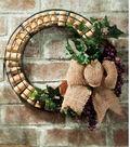 Idea Market Wire Cork Wreath