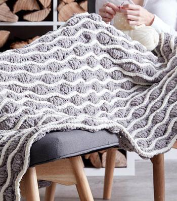 Make A Trellis & Tassels Knit Afghan