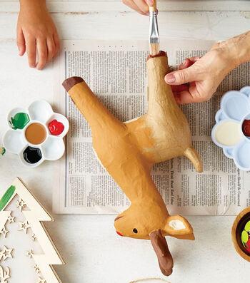 How To Paint A Paper Mache a Deer