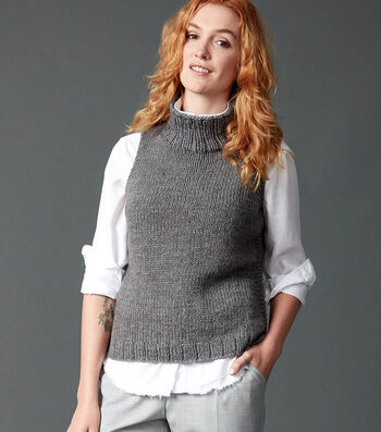 How To Make A Sleeveless Knit Turtleneck