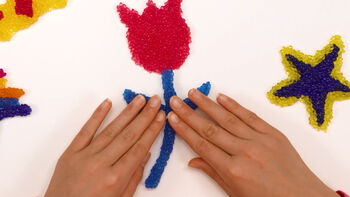 Make A Flower With Bobble Bitz
