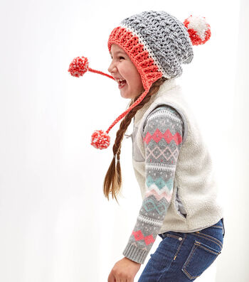 How To  Crochet A Little Miss Pompom Hat