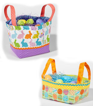 Fabric Easter Baskets