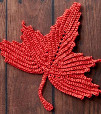 How To Crochet A Maple Leaf Dishcloth