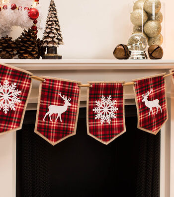 How To Make A Flannel Christmas Banner