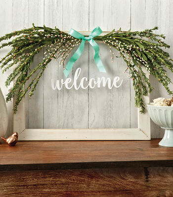 How To Make A Spring Welcome Sign