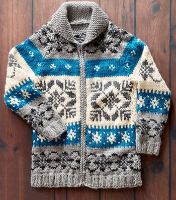 How To Make A Nordic Stag Knit Jacket