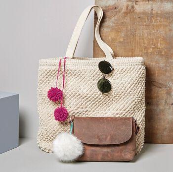 Pom Pom Tassel Bags