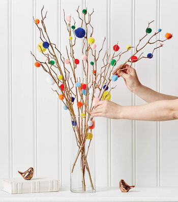 How to Make A Pompom Tree