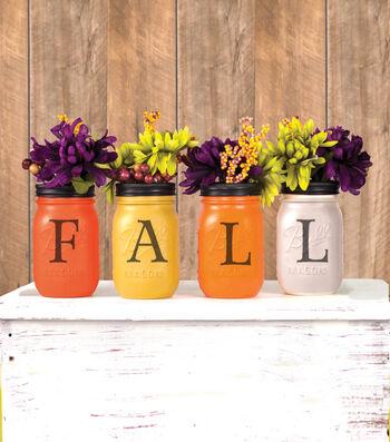 Autumn Mason Jars