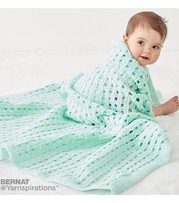 Crochet A Happy Baby Blanket