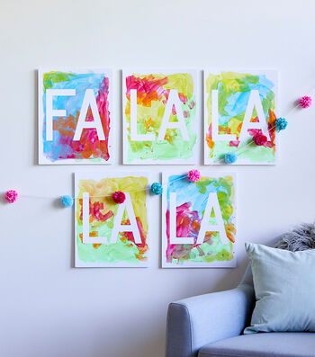 How To Make Painter's Tape Wall Art