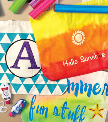 How To Make A Summer Fun And Stuff Tote Bag