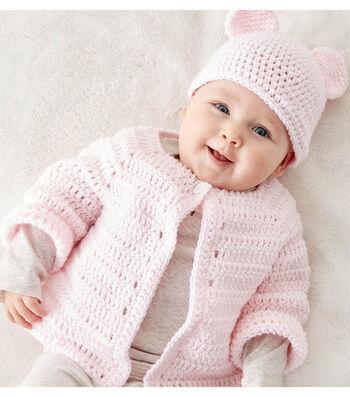 Make A Crochet Baby Jacket Set