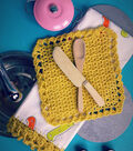 Kitschy Coo Lacy Kitchen Towel Edging and Dishcloth