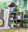 Bloom Room Wood Window Sill Plant Holder