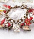 Holiday Glitz Charm Bracelet
