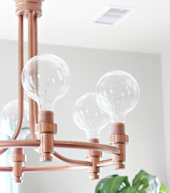 How To Paint A Pendant Light