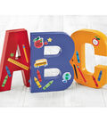 Painted A,B,C Letters