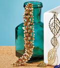 Topaz Crystal and Rhinestone Bracelet