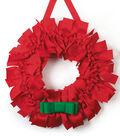 Grosgrain Knot Ribbon Wreath
