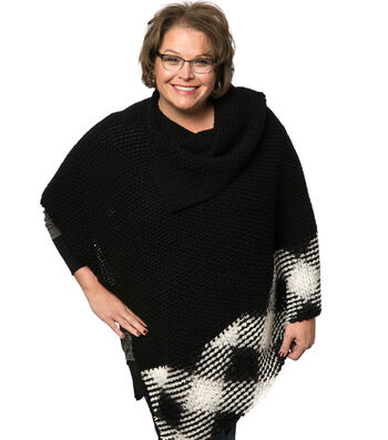 How To Crochet A Planned Pooling Argyle Poncho