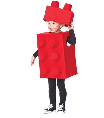 How To Make A Child's Lego Costume