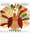Give Thanks Turkey Canvas
