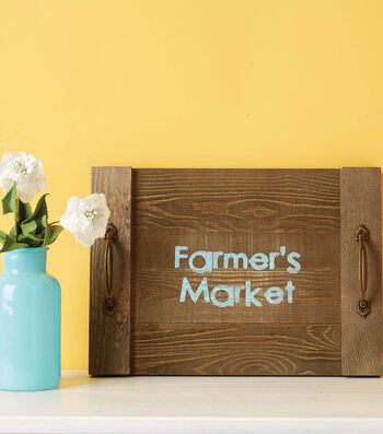 How to Make A Farmers Market Pallet Tray